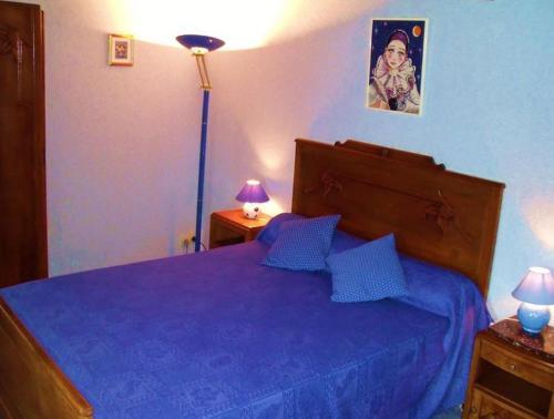 Un ou plusieurs lits dans un hébergement de l'établissement Gîte des Aulnaies