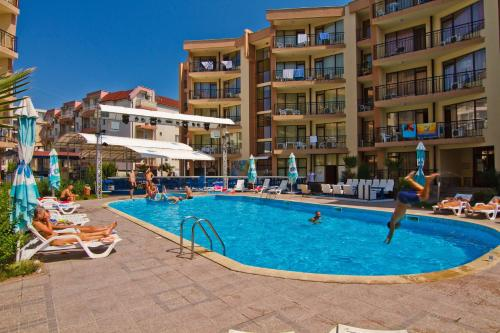 The swimming pool at or near Sea Grace Aparthotel
