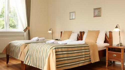 A bed or beds in a room at Villa Stella Maris