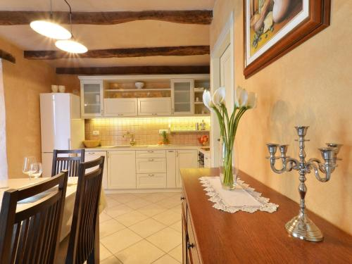 A kitchen or kitchenette at Istrian Villa Fumica