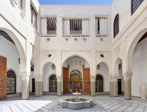 里亚德巴伊亚宫非斯摩洛哥传统庭院住宅