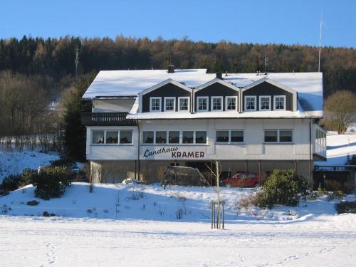 Landhaus Kramer during the winter