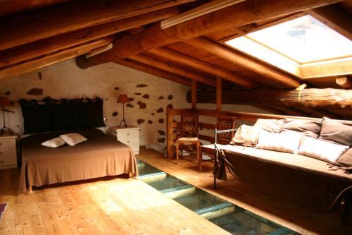 A bed or beds in a room at Casa del Vasaio