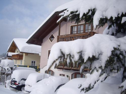 Ferienhaus Höll during the winter