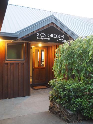 8 on Oregon