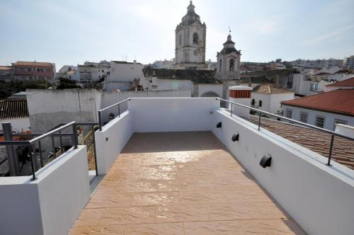 A balcony or terrace at Pérola Azul