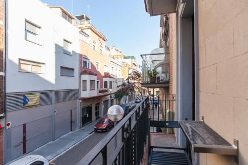 Balkon lub taras w obiekcie Apartment Aptucat