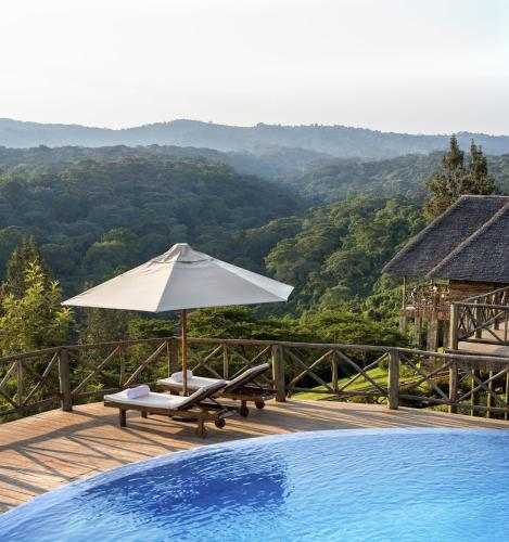The swimming pool at or near Neptune Ngorongoro Luxury Lodge - All Inclusive