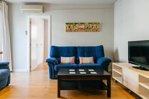 바르셀로나 어번 아파트 휴식 공간