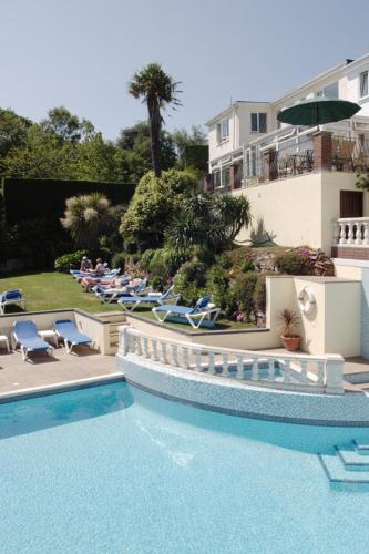 The swimming pool at or near Hotel Miramar