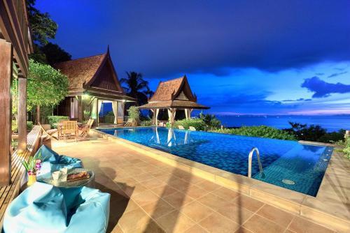 Villa Thai Teak - Panoramic Sea & Sunset Views