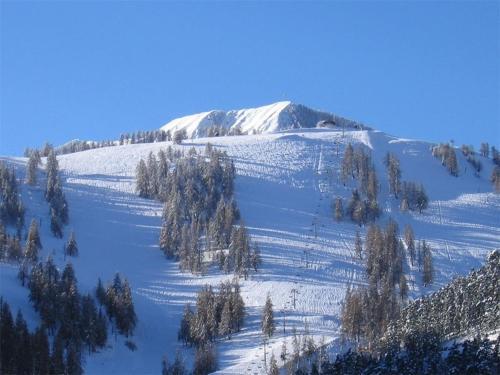 L'établissement Gite Montagne Mercantour en hiver
