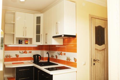 Кухня или мини-кухня в ASTA Apartments