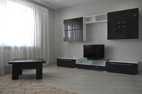 A television and/or entertainment center at New Fortres Apartment №2