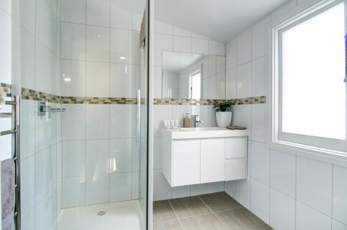 A bathroom at Terrace on York