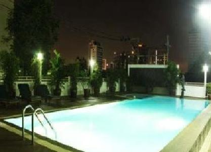 The swimming pool at or near Omni Suites Aparts-Hotel