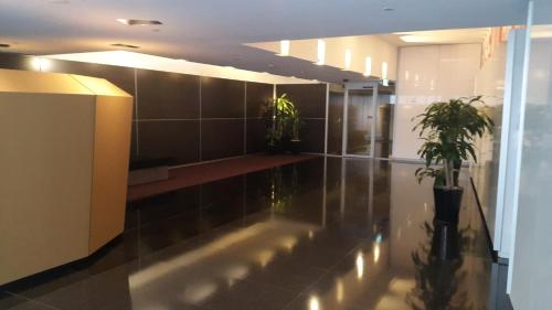 The lobby or reception area at Dockland View Apartment