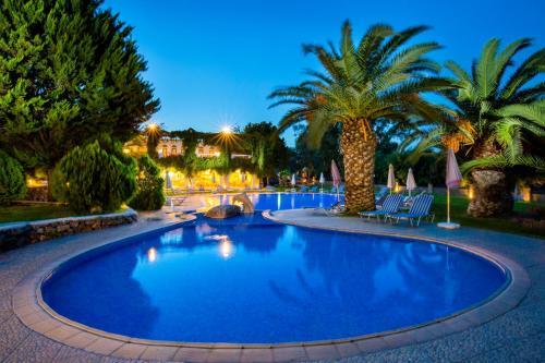 The swimming pool at or near Ekaterini Hotel