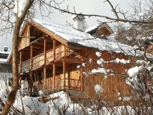 Chalet Edelweiss One during the winter
