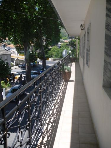 A balcony or terrace at Pensão Estrela