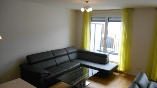 A seating area at Stuttgart City Luxus Appartments