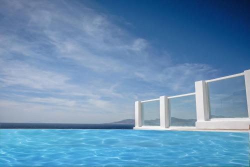 The swimming pool at or near Mykonos Art Villa