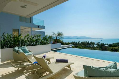 3 Bedroom Sea View Villa Escape