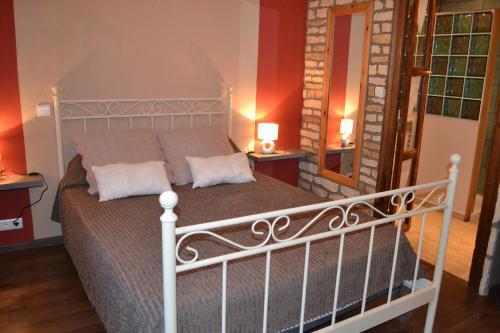 Un ou plusieurs lits dans un hébergement de l'établissement L'oustal Les Fayards