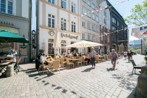 Appartements in der historischen Deichstrasse