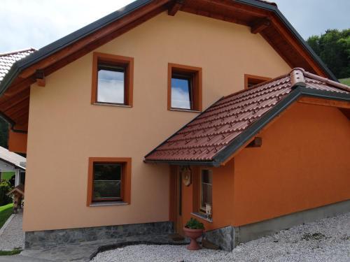 The facade or entrance of Apartments Trebušak