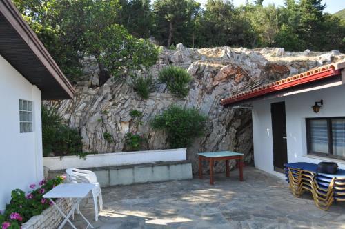 Патио или другая зона на открытом воздухе в Villa Pachino