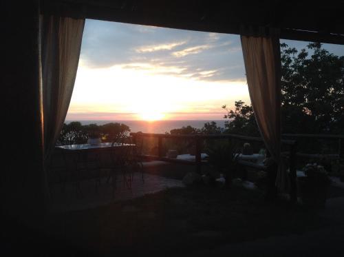 La Terrazzina sul tramonto