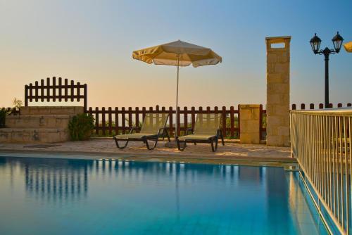 The swimming pool at or near Erofili