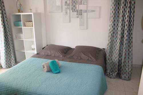 Ein Bett oder Betten in einem Zimmer der Unterkunft Soazara