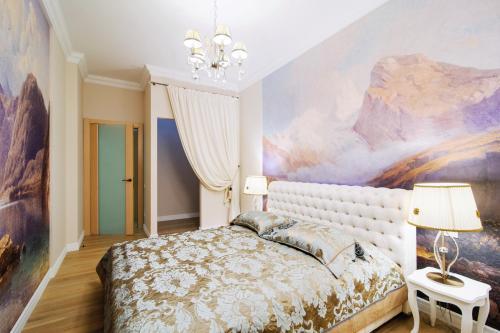 A room at Vip-kvartira Volodarskogo