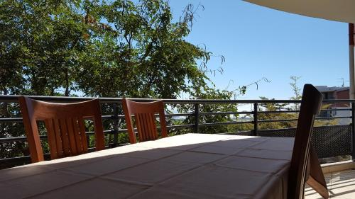 A balcony or terrace at T2 - L'Odysseum