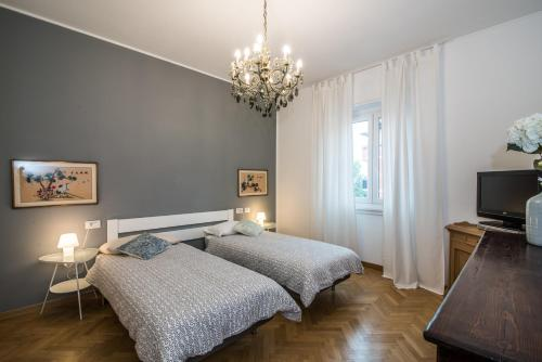 A bed or beds in a room at Viale Corsica Apartment