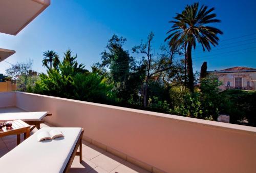 A balcony or terrace at Casa Christina