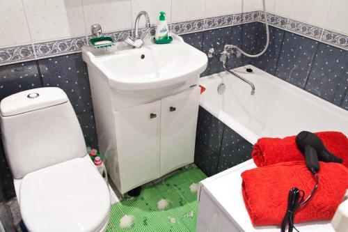 Ванная комната в Fili Apartment