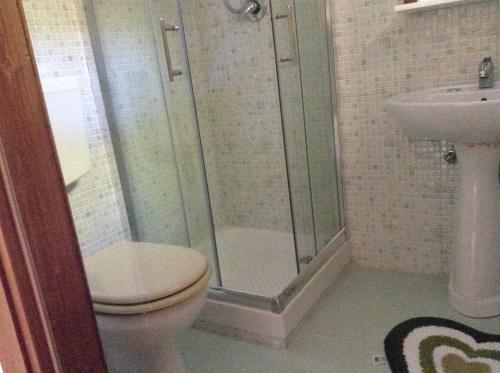 Vonios kambarys apgyvendinimo įstaigoje San Martino Apartments