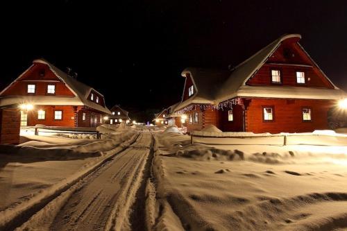 Drevenice Zuberec v zimě