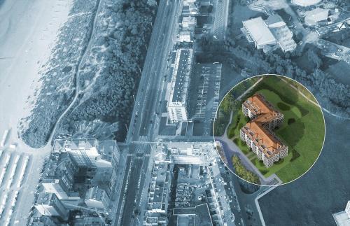 Blick auf Royal Gardens aus der Vogelperspektive