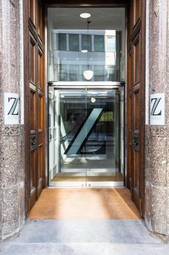 The facade or entrance of The Z Hotel City