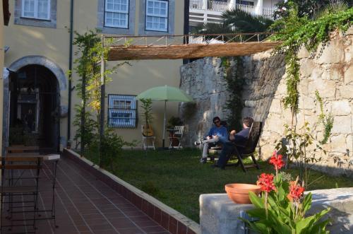 Um pátio ou outra área exterior em Porto.arte downtown apartment