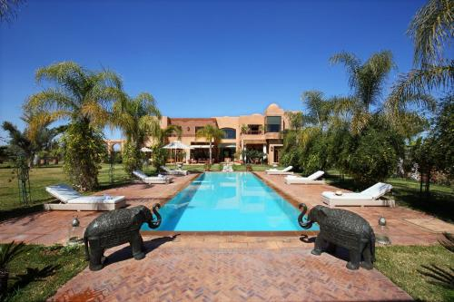 Luxury Villa Marrakech 10 Personnes