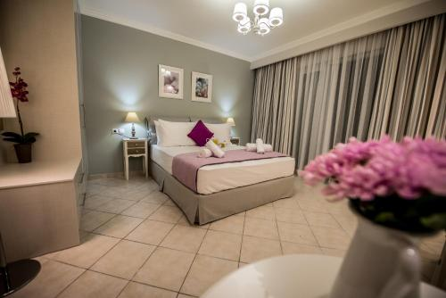 Ένα δωμάτιο στο Lefkadio Suites