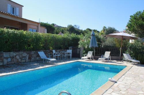 Villa piscine 10 personnes Porticcio