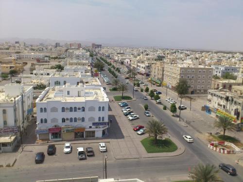 A bird's-eye view of Husin Al Khaleej Hotel Apartment