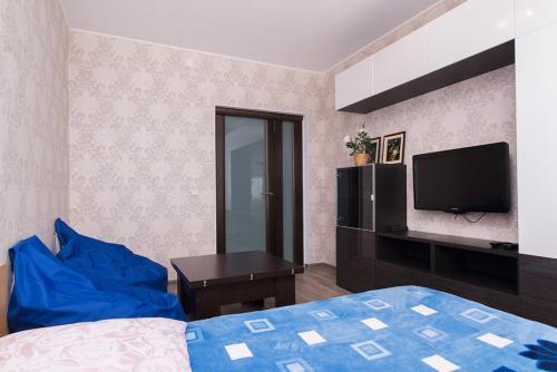 "Гостиная зона в ""SelimVseh"" Apartment at Soyuznaya"