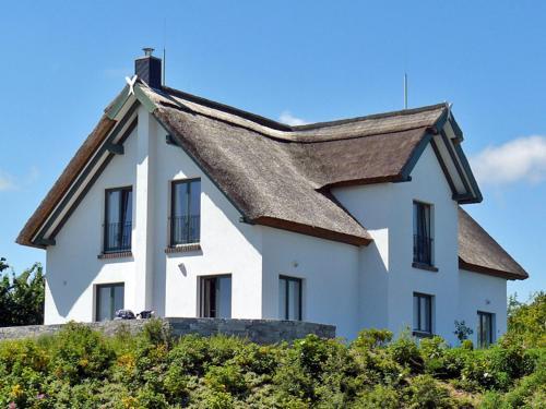 Reetdachhaus im Fischerdorf